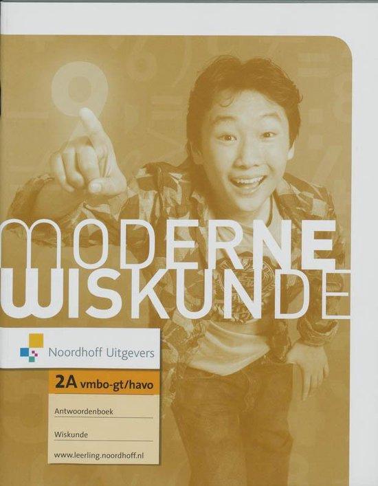 Antwoordenboek 2A Vmbo-gt/Havo Moderne Wiskunde - none   Fthsonline.com