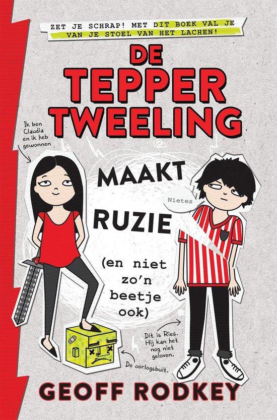 De Tepper-tweeling 1 - De Tepper-tweeling maakt ruzie (en niet zo'n beetje ook) - Geoff Rodkey | Fthsonline.com