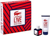Lacoste Live Pour Homme EDT 40 ml + 100 ml Shower Gel Cadeauset