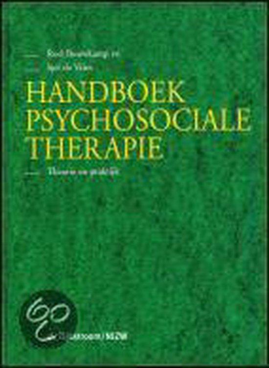 Handboek psychosociale therapie - R. Bouwkamp  