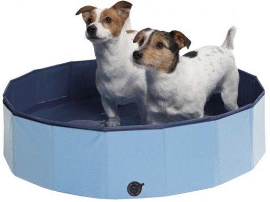Adori Hondenzwembad met afdekzeil - Medium - 120 x 30 x 30 cm - Blauw