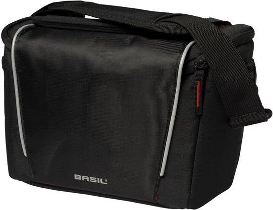 Basil Handlebar Bag - Stuurtas - Fietstas - 7 l - Black