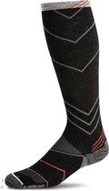 Sockwell Hoge Compressie Sportsokken Incline Knee High Sw8m.900 - Zwart - Heren - Maat 44-47