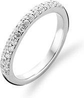 TI SENTO Milano Ring 1414ZI - Maat 60 (19 mm) - Gerhodineerd Sterling Zilver