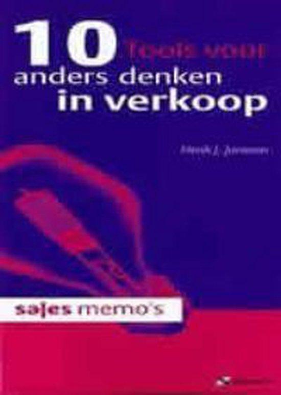 Cover van het boek '10 tools voor anders denken in verkoop / druk 1' van Henk J. Janssen