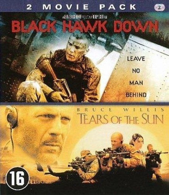 Cover van de film 'Black Hawk Down/Tears Of The Sun'