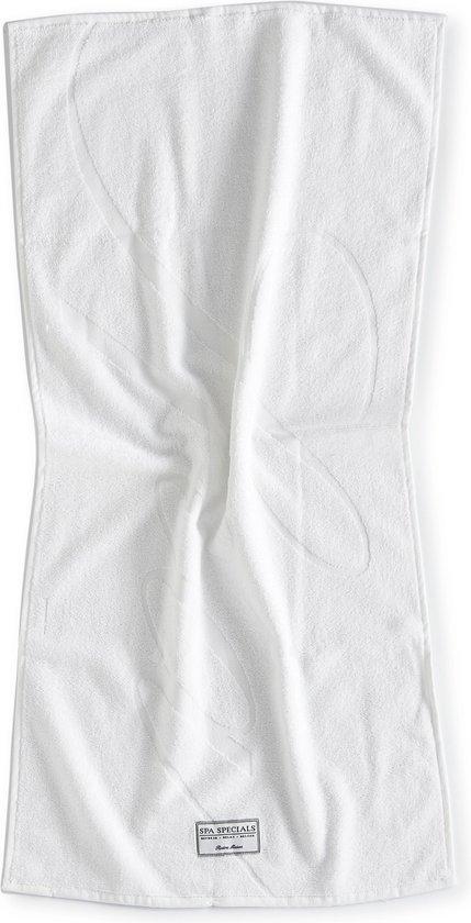 Riviera Maison Spa Specials Bath Towel  - Badhanddoek - 100x50 - Wit - Riviera Maison