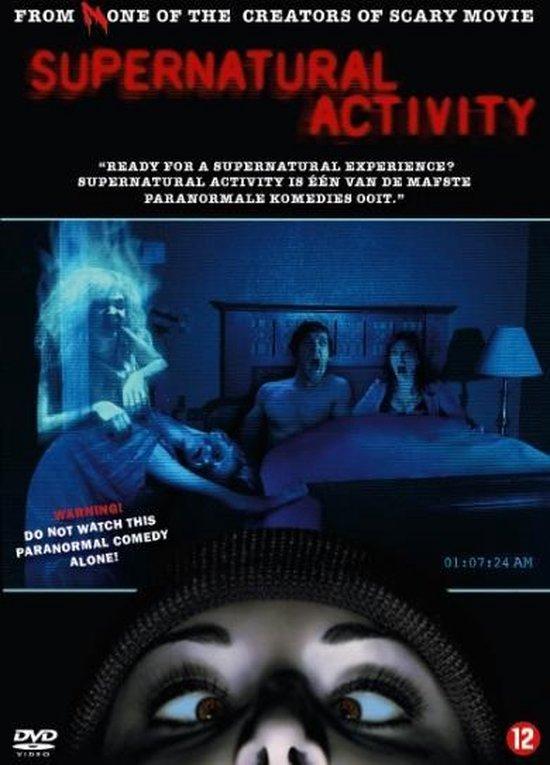 Cover van de film 'Supernatural Activity'