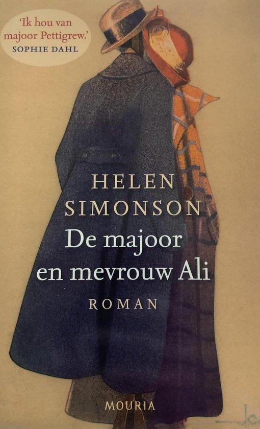 Cover van het boek 'De Majoor En Mevrouw Ali' van Helen Simonson