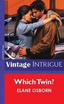 Omslag Which Twin? (Mills & Boon Vintage Intrigue)