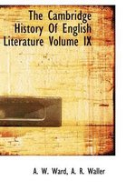 The Cambridge History of English Literature Volume IX