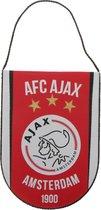 Ajax half ronde vaan -rood