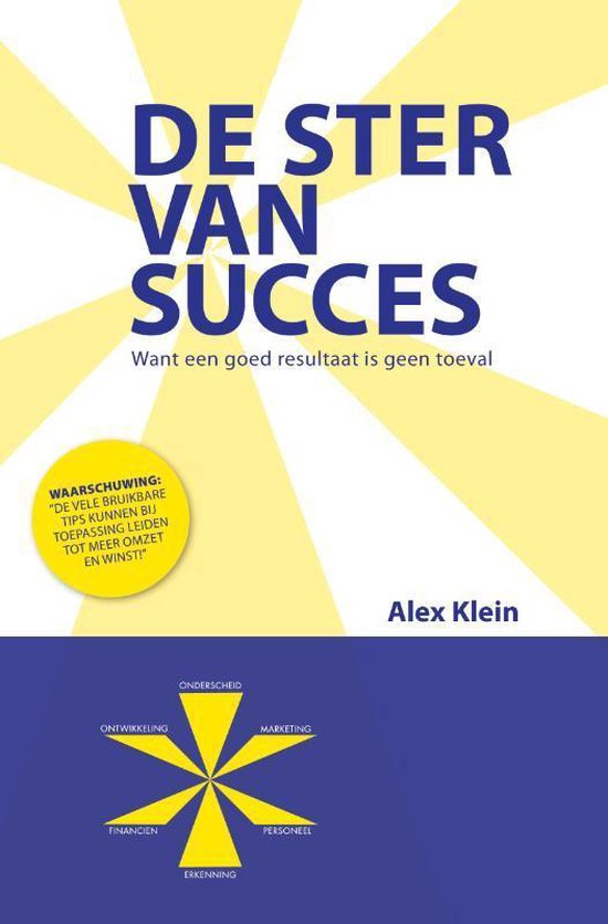 De Ster van Succes - A. Klein |