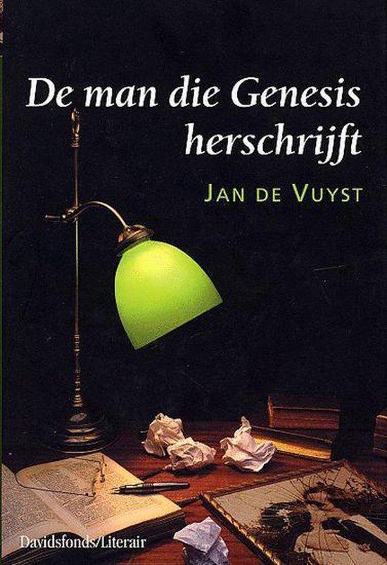 Cover van het boek 'De man die Genesis herschrijft'