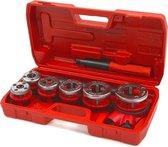 8 Delige Pijpdraad Snijder Set 6.3 – 31 mm