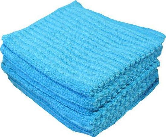 Vaatdoeken Suus - Vaatdoek 30x30 cm - Blauw - 6 stuks