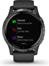 Garmin Vivoactive 4S - Smartwatch - 40 mm - Black/Slate
