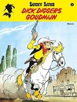 Boek cover Lucky luke (relook) 01. dick diggers goudmijn van Morris (Paperback)