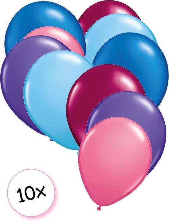 Ballonnen Zeemeermin 10 stuks 27 cm