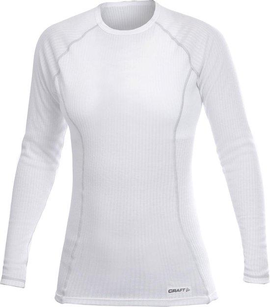 Craft Crewneck Thermoshirt Longsleeve 'Active' - Sportshirt - Dames - XL - Wit