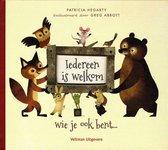 Boek cover Iedereen is welkom van Patricia Hegarty (Hardcover)