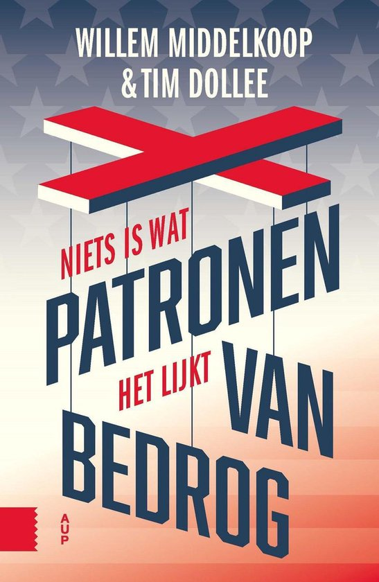 Boek cover Patronen van bedrog van Willem Middelkoop (Onbekend)