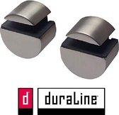Duraline Circle mini set geborsteld nikkel