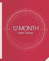 12-Month Habit Tracker
