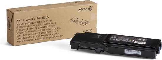 XEROX 106R02747 - Toner Cartridge / Zwart / Hoge Capaciteit