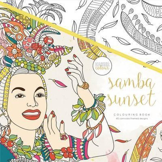 Kaisercraft Kleurboek voor Volwassenen - Samba Sunset - Kaisercraft |