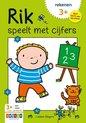 Afbeelding van het spelletje Zwijsen Kinderboek Rik speelt met cijfers. 3+
