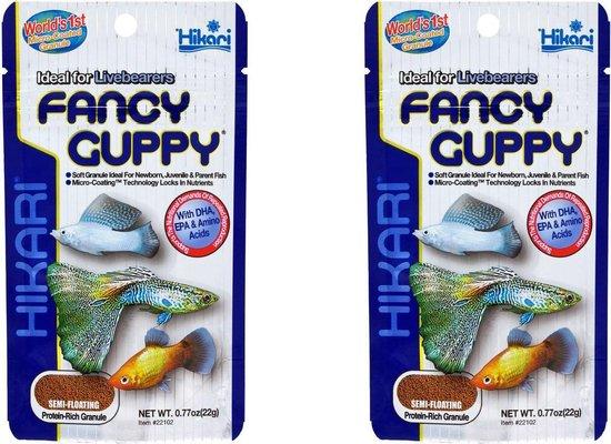 Hikari Guppy food 22 gram per 2 zakjes