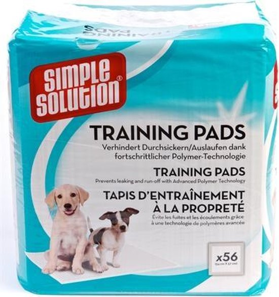 Simple Solutions - Puppy training pads - 56 stuks - 54 x 57 cm