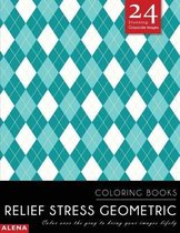 Relief Stress Geometric Coloring Books