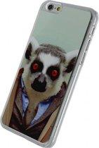 Xccess cover Apple iPhone Funny Lemur