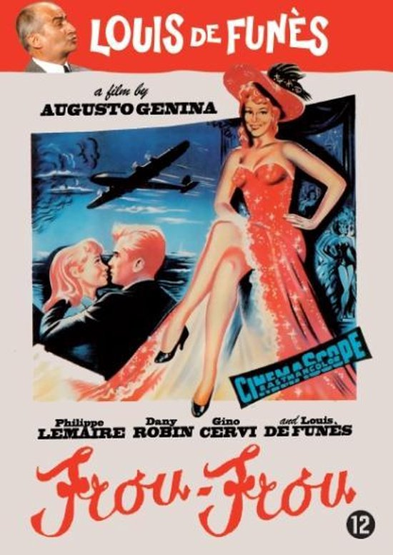 Cover van de film 'Louis de Funes / Frou Frou'