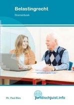 Boek cover Juridischjuist.info - Belastingrecht Bronnenboek van Paul Bles (Paperback)