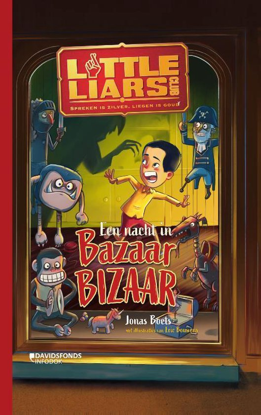 Little Liars Club - Een nacht in Bazaar Bizaar