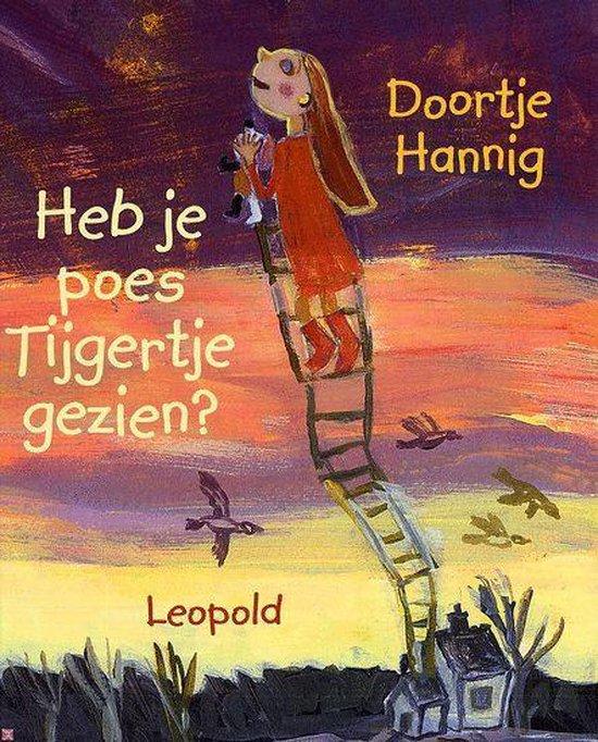Cover van het boek 'Heb je poes Tijgertje gezien' van Doortje Hannig