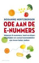 Boek cover Ode aan de e-nummers van Rosanne Hertzberger