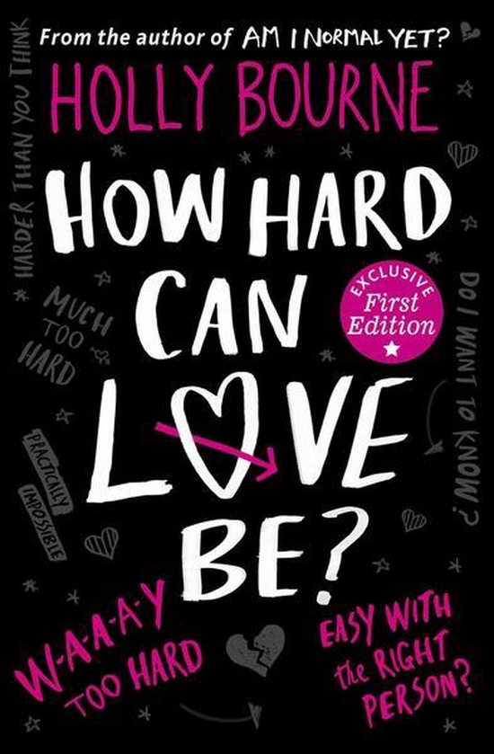 Boek cover How Hard Can Love Be? van Holly Bourne (Paperback)