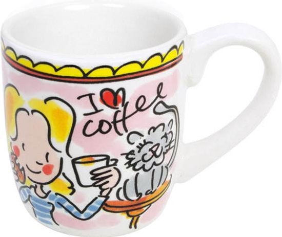 Blond Amsterdam - Even Bijkletsen - Espresso kopje - I love coffee - 50 ml