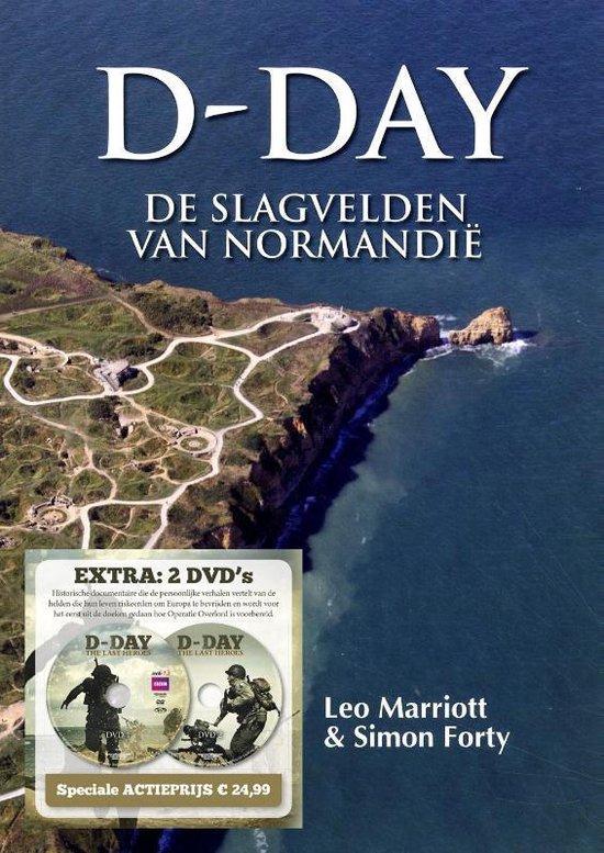Boek cover D-Day van Leo Marriott (Hardcover)