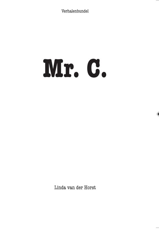 Mr C. - Linda van der Horst |