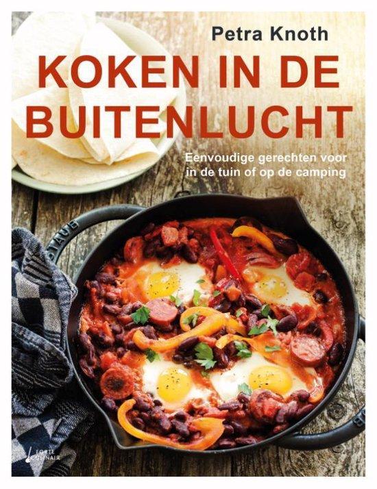 Boek cover Koken in de buitenlucht van Petra Knoth (Hardcover)
