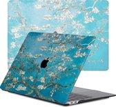 Lunso - cover hoes - MacBook Pro 13 inch (2020) - Van Gogh Amandelboom