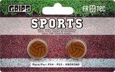 Thumb Grips Sports - Geschikt voor de PS4 PS3 en Xbox 360 - Bruin