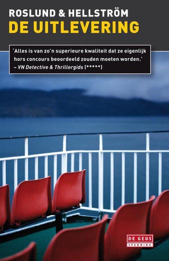 Boek cover De uitlevering van Anders Roslund (Paperback)