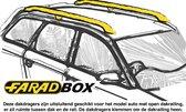 Farad Dakdragers - Kia Sportage 1997 t/m 1999 - Open Dakrail - Staal - Luxset