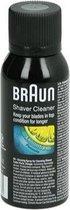 Braun reiniger scheerapparaat reinigingsspray shaver cleaner origineel 100ml scheerhoofd reiniger